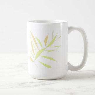 grass cup basic white mug