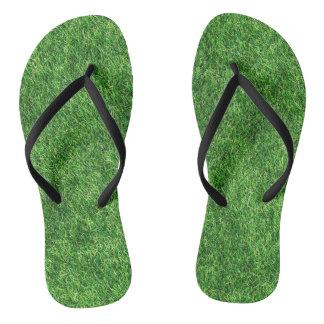 Grass Design Thongs