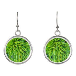 Grass Earrings