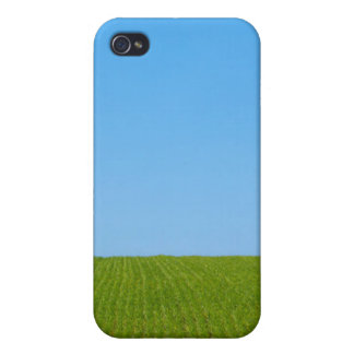 Grass Field and Blue Sky iPhone 4/4S Cover