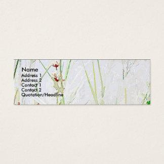 Grass/Flowers Simple Profile Card