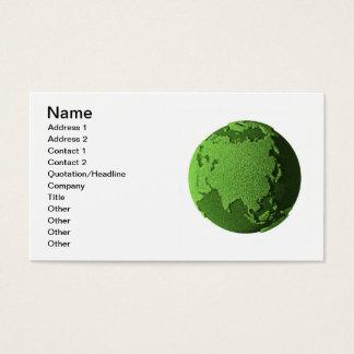 Grass Globe - Asia Business Card