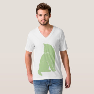 Grass green cat T-Shirt