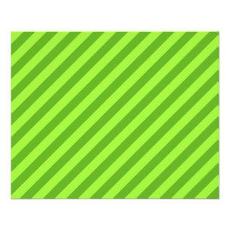 Grass Green Stripes. Flyers