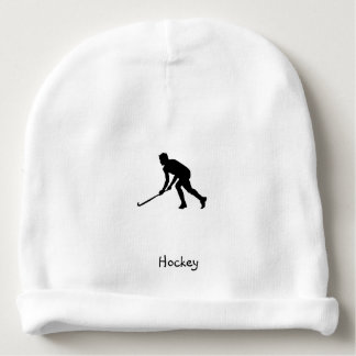 Grass Hockey Player Baby Beanie