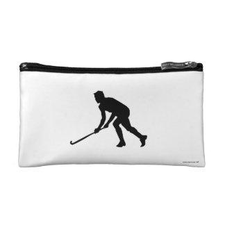 Grass Hockey Player Cosmetic Bag