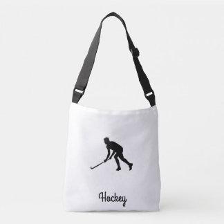Grass Hockey Player Crossbody Bag