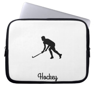 Grass Hockey Player Laptop Sleeve