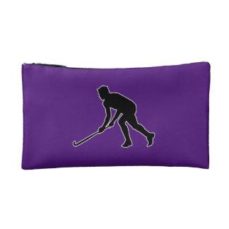 Grass Hockey Player Makeup Bag