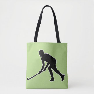 Grass Hockey Player Tote Bag