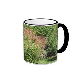 Grass in bloom ringer mug
