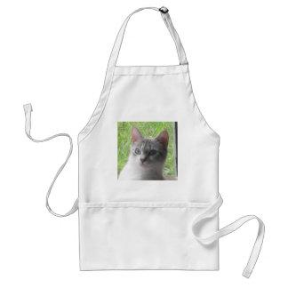 Grass Kitty Standard Apron