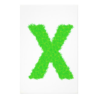 grass letter stationery
