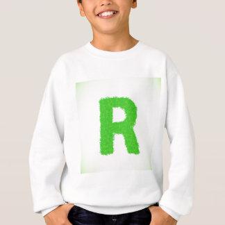 grass letter sweatshirt