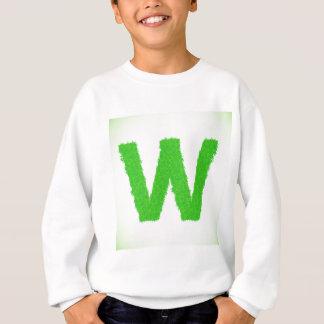 Grass Letter W Sweatshirt