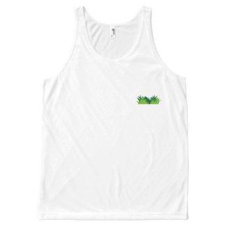 Grass & Logo All Over Print Tank