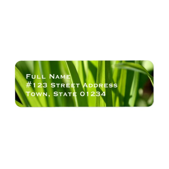 Grass Mailing Labels
