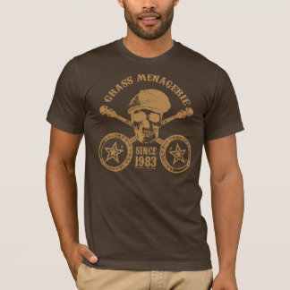 Grass Menagerie (gold) T-Shirt