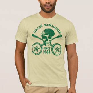 Grass Menagerie (green) T-Shirt