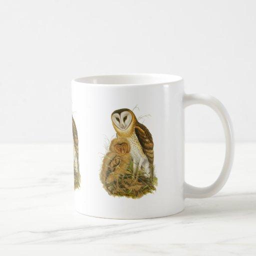 Grass Owl Mugs