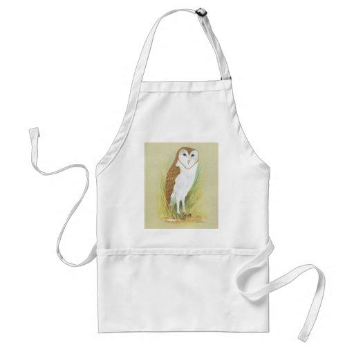 Grass Owl - Tyto longimembris Aprons