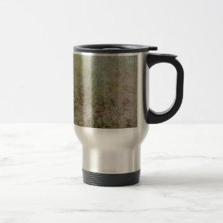 Grass pattern art design photograph stainless steel travel mug