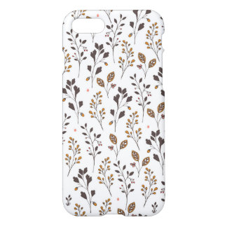 Grass pattern   Doodle Art iPhone 7 Case