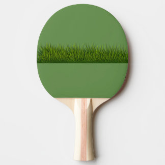 grass ping pong paddle