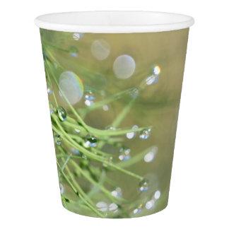 Grass Rain Drops Party Paper Cup