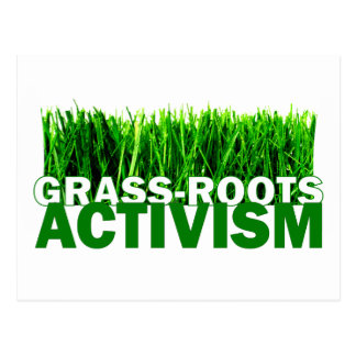 GRASS-ROOTS ACTIVISM POST CARDS
