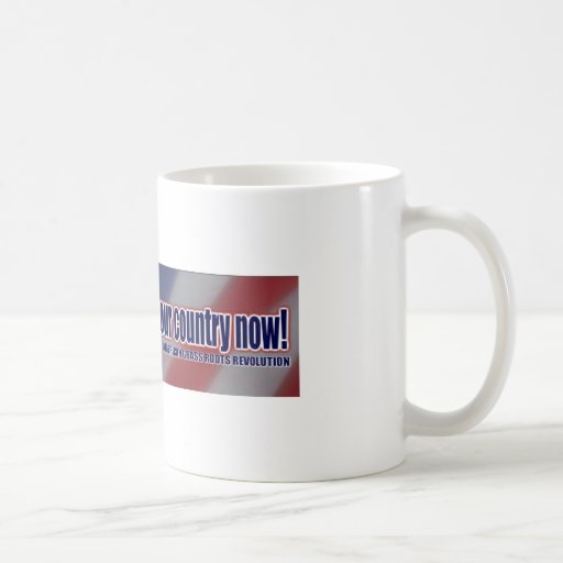 Grass Roots Revolution - Coffee Mug