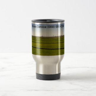 Grass Service Stainless Steel Travel Mug