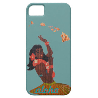 Grass Skirt Hawaiian Girl Barely There iPhone 5 Case
