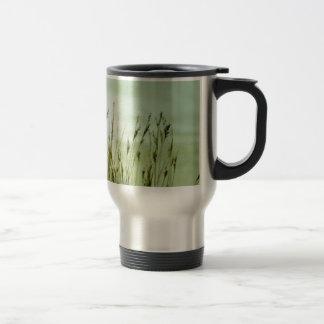 grass stainless steel travel mug