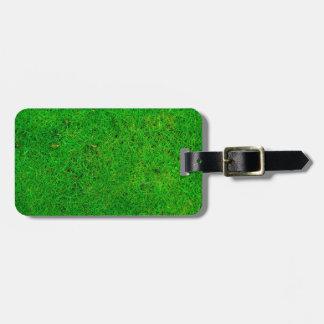 Grass Texture Bag Tag