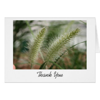 Grass Thank You Card