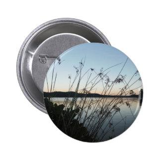 Grasses at lake Sunset Button