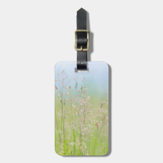 Grasses in motion luggage tag