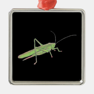 Grasshopper Ceramic Ornament