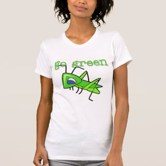 Grasshopper Go Green T-shirts and Gifts