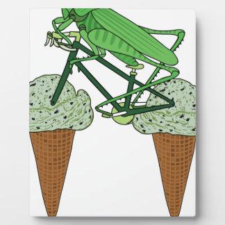 Grasshopper Riding Bike W/ Grasshopper ice cream Plaque