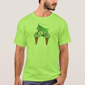 Grasshopper Riding Bike W/ Grasshopper ice cream T-Shirt