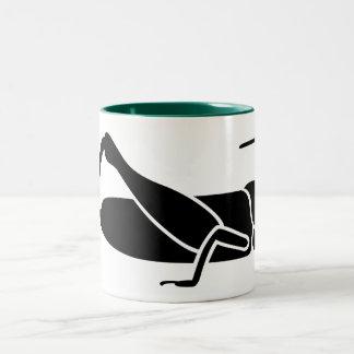 Grasshopper Two-Tone Coffee Mug