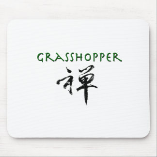 "Grasshopper with ""Zen"" symbol Mouse Pad"
