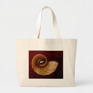 Grassonius V1 - watching eye Large Tote Bag