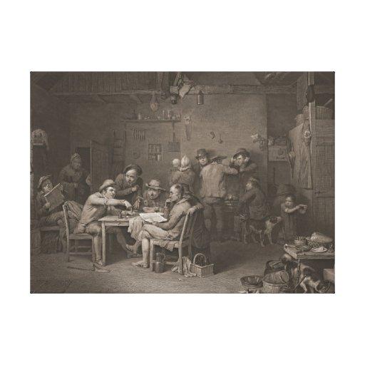 Grassroots Politics 1813 Stretched Canvas Prints