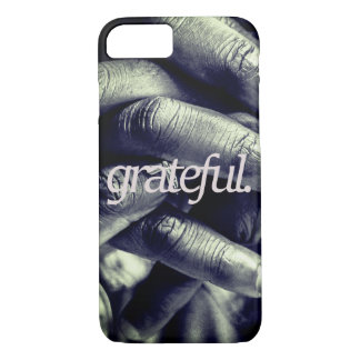 grateful. all over print iPhone 8/7 case