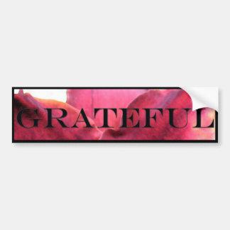 Grateful Bumper Sticker