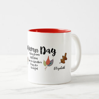 Grateful for Autumn Days Mug