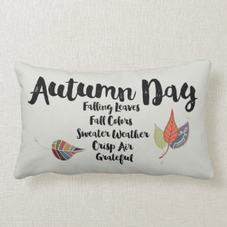 Grateful for Autumn Rectangle Pillow